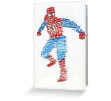 Arachnid Guy Greeting Card