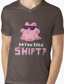 Do you even SHIFT?! Mens V-Neck T-Shirt