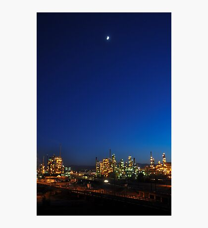 Denver Oil Refinery Photographic Print