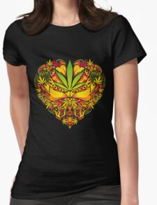 Love for Cannabis Womens Fitted T-Shirt