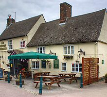 The Waggon And Horses,Steeple Mordern by Jamie  Green