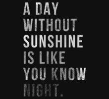 Sunshine Night by wegeling