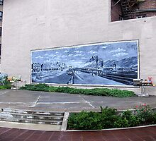 Mural by Paul Lubaczewski