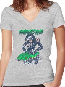 Finkenstein (death race 2000) Women's Fitted V-Neck T-Shirt