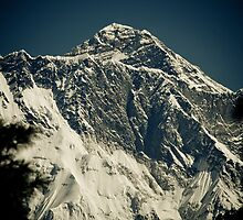 Mount Everest From The Trail by Johan nordholm