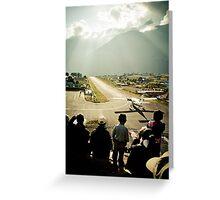 Lukla Airport, Nepal Greeting Card