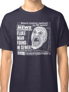 Freaky World News: Fluke Man Classic T-Shirt
