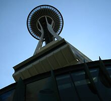 Space Needle, Exterior by Stephen Oravec