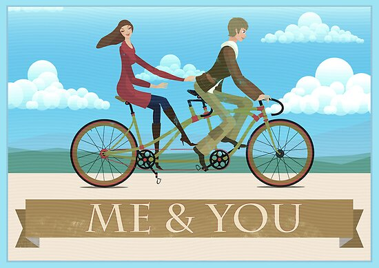 Me &amp; You Bike by Andy Scullion
