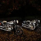 Brough Superior SS100 and 680 by Frank Kletschkus
