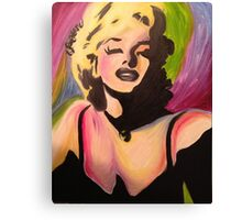 Marilyn Monroe- Tiffani Style. Canvas Print