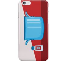 In the kitchen: salt and pot iPhone Case/Skin