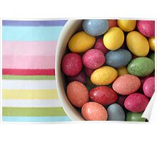 Candy Stripes Poster