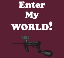 Paintball. Enter My World. WHI. by DavidAtchley