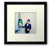 Champagne Mafia Framed Print