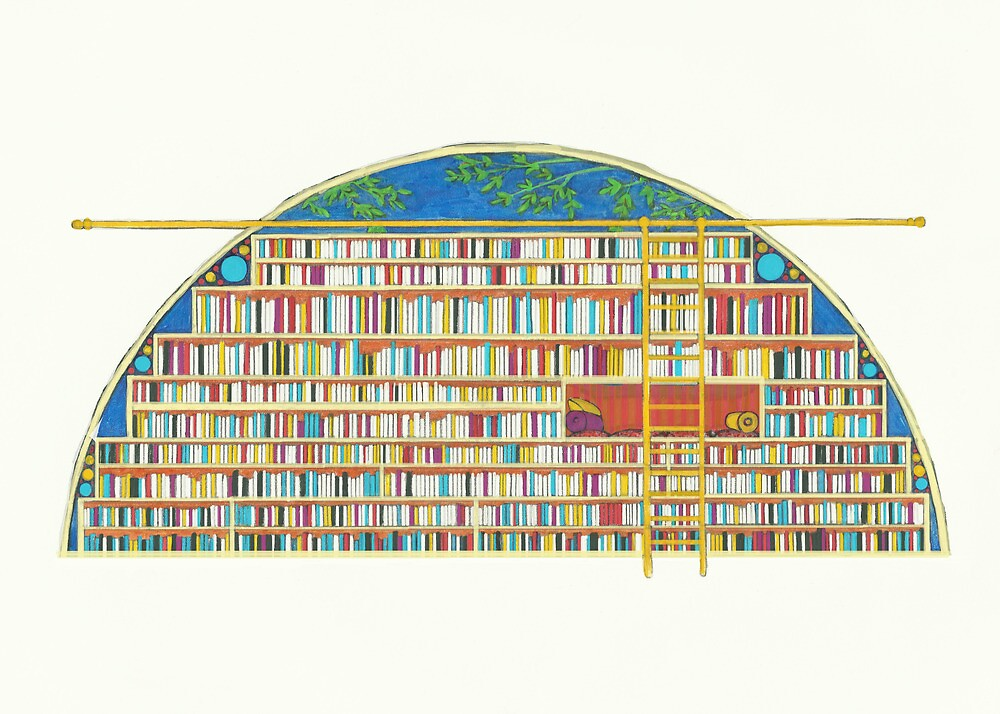 Library of My Dreams by NightBloomer
