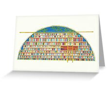 Library of My Dreams Greeting Card
