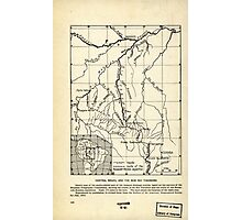 Brazil Roosevelt River. 1915. Photographic Print