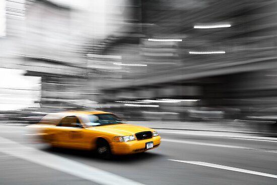 New York Taxiiiiiii by ChromaticTouch