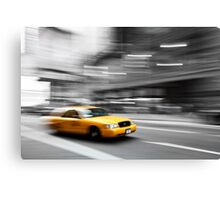 New York Taxiiiiiii Canvas Print
