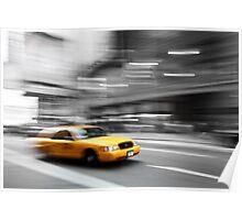 New York Taxiiiiiii Poster