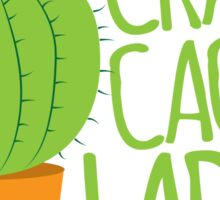 Crazy Cactus Lady Sticker