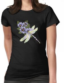 Springtime Visit Womens Fitted T-Shirt