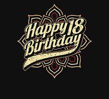 Happy 18th Birthday - RAHMENLOS Design Unisex T-Shirt