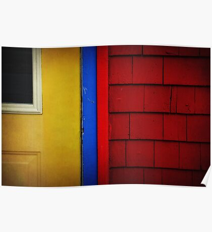 Primary Colours Poster