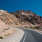 Artist&#x27;s Palette Drive - Death Valley N.P. by Mark Heller
