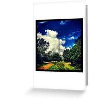 Alexandra Palace BBC Tower Greeting Card