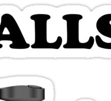 Paintball. Got Balls? BL. Sticker