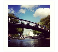 Camden Town Bridge Art Print