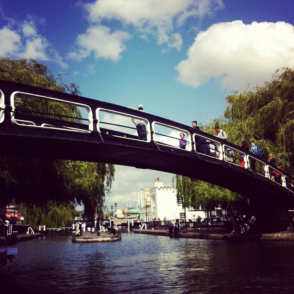Camden Town Bridge by lanesloo