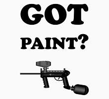 Paintball. Got Paint? BL. Unisex T-Shirt