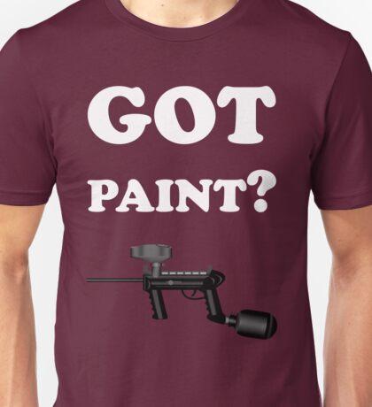 Paintball. Got Paint? WHI. Unisex T-Shirt