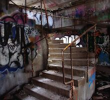 Up the stairs by Linda  Morrison