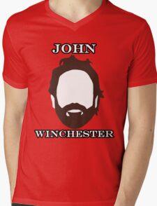 John Winchester Mens V-Neck T-Shirt