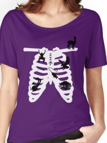 RibCage Women's Relaxed Fit T-Shirt