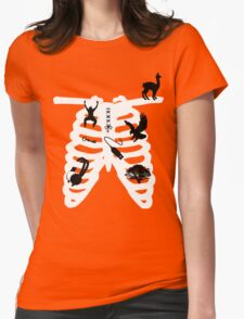 RibCage Womens Fitted T-Shirt