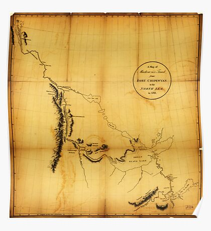 Canada, Western. 1801 Poster
