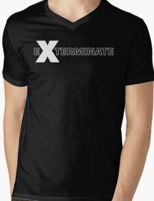 Basically, Exterminate! Mens V-Neck T-Shirt