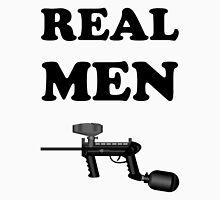 Paintball. Real Men Paintball. BL. Unisex T-Shirt