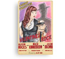 Valentine's Rock Canvas Print
