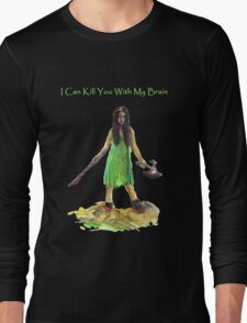 River Tam I Can Kill You With My Brain Dark Color T-shirts Version Long Sleeve T-Shirt