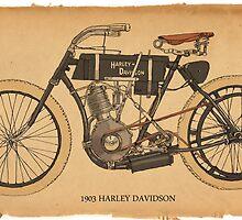 1903 Harley Davidson by RGMcMahon