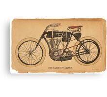 1903 Harley Davidson Canvas Print