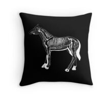 Horse Anatomy Throw Pillow