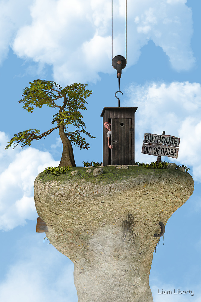 Outhouse - Out of Order by Liam Liberty