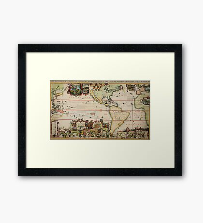 chatelain (america) The Dutch Beaver Derivative Framed Print